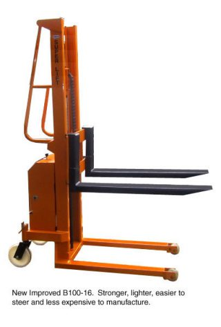 The Light Weight Fork lift with the sturdy Height